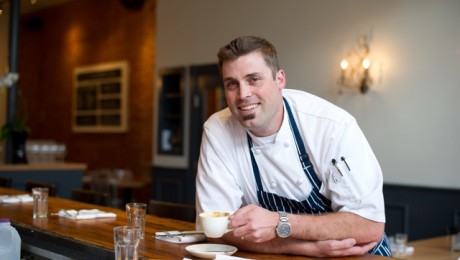 Chef Kyle Mendenhall, of The Kitchen, will be one of the guest chefs at CindCHEF, March 6.